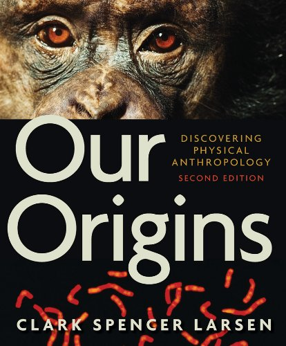 Our Origins Discovering Physical Anthropology 2nd 2011 edition cover