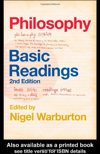 Philosophy Basic Readings 2nd 2004 (Revised) edition cover