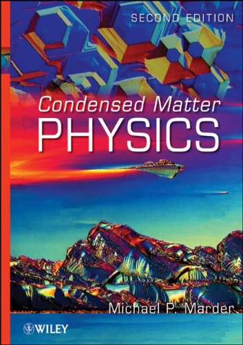 Condensed Matter Physics  2nd 2011 edition cover