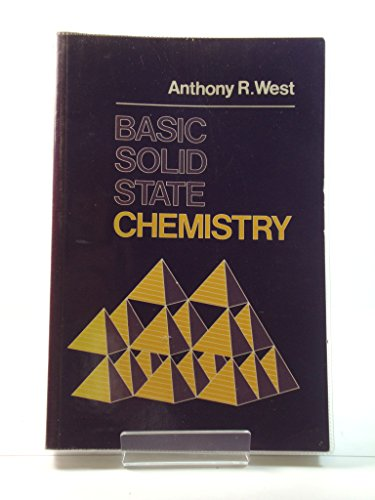 Basic Solid-State Chemistry Abridged Paper  1st 1988 9780471917984 Front Cover