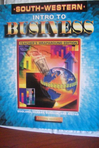 Introduction to Business Activities and Projects 4th 2000 (Workbook) 9780538692984 Front Cover