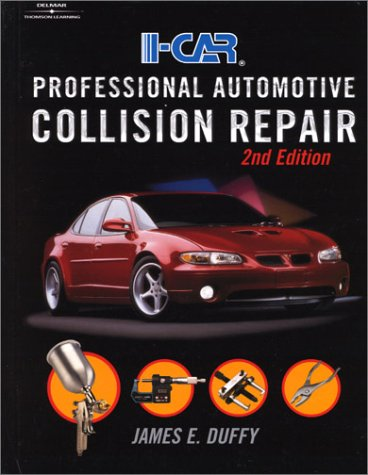 I-Car Professional Automotive Collision Repair  2nd 2001 (Revised) edition cover