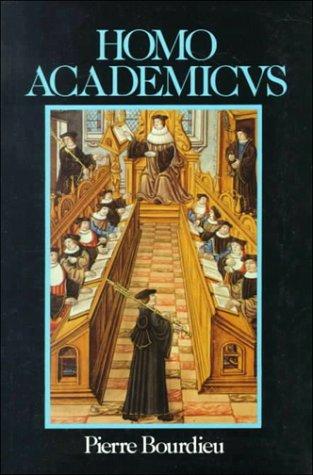 Homo Academicus   1988 edition cover