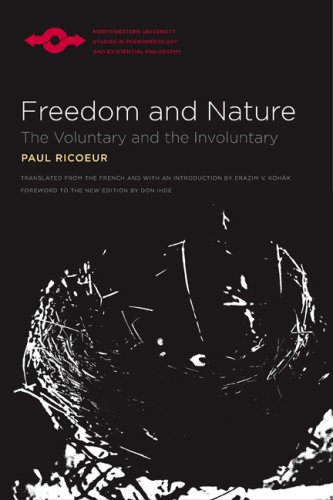 Freedom and Nature The Voluntary and the Involuntary  2007 edition cover