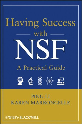 Having Success with NSF A Practical Guide  2013 9781118013984 Front Cover