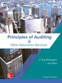 PRIN.OF AUDITING+OTHER ASSURANCE..      N/A 9781259916984 Front Cover