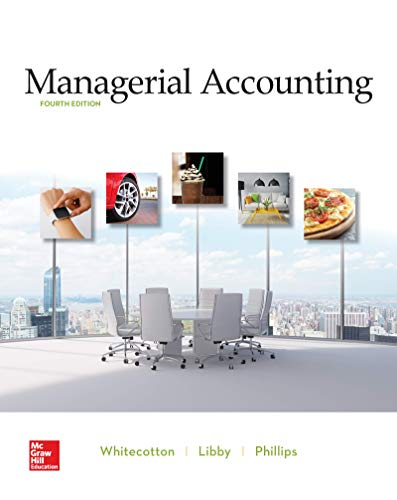 Managerial Accounting:   2019 9781260413984 Front Cover