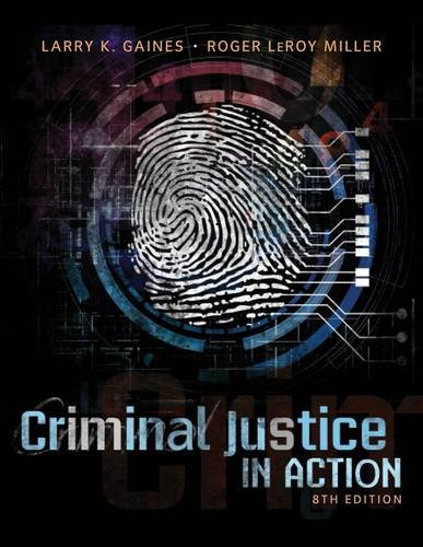 Criminal Justice in Action:   2014 edition cover