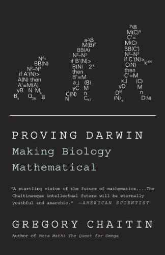 Proving Darwin Making Biology Mathematical N/A 9781400077984 Front Cover