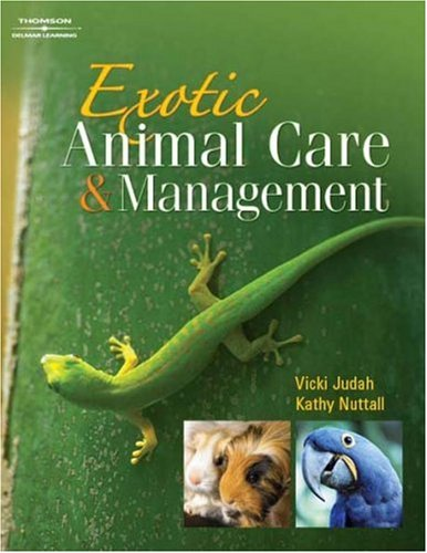 Exotic Animal Care and Management   2009 edition cover