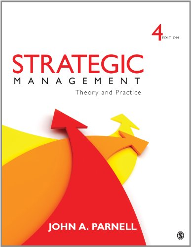 Strategic Management Theory and Practice 4th 2014 edition cover