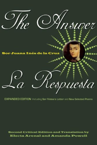 Answer Including Sor Filotea's Letter and New Selected Poems 2nd 2009 (Revised) edition cover