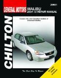 Chilton Total Car Care Chevy Malibu, 2004-2010 Repair Manual:   2010 edition cover