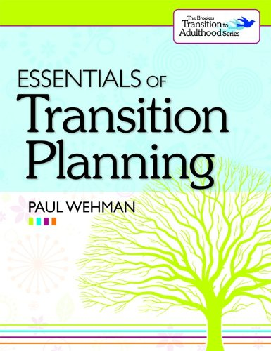 Essentials of Transition Planning   2010 edition cover