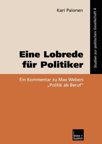 Lobrede F�r Politiker   2002 9783810034984 Front Cover