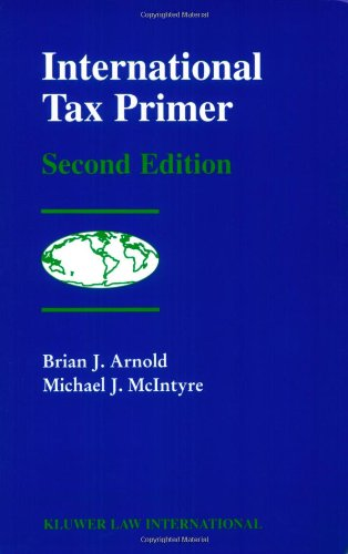 International Tax Primer  2nd 2002 (Revised) edition cover