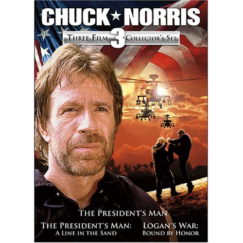 Chuck Norris: Three Film Collection (The President's Man / The President's Man 2: A Line In The Sand / Logan's War: Bound by Honor) System.Collections.Generic.List`1[System.String] artwork