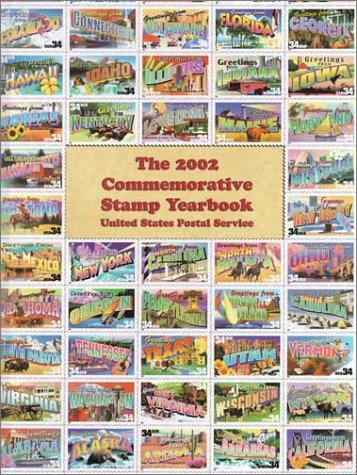 2002 Commemorative Stamp Yearbook  N/A 9780060198985 Front Cover
