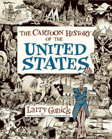 Cartoon History of the United States   1991 edition cover