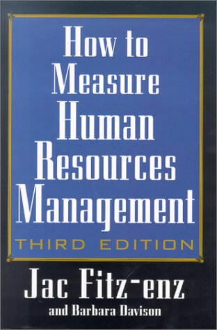 How to Measure Human Resources Management  3rd 2002 (Revised) edition cover