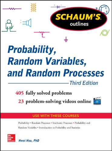 Probability, Random Variables, and Random Processes  3rd 2014 edition cover