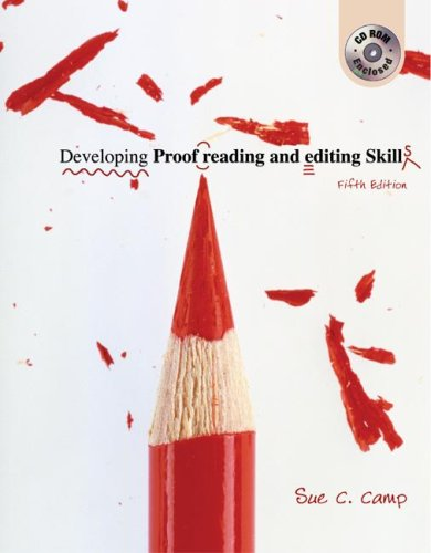 Developing Proofreading and Editing Skills 5th 2005 edition cover