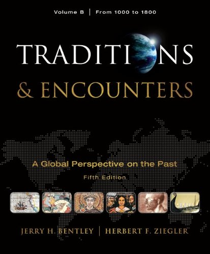 Traditions and Encounters from 1000 to 1800  5th 2011 edition cover