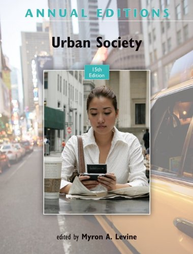 Urban Society  15th 2012 edition cover