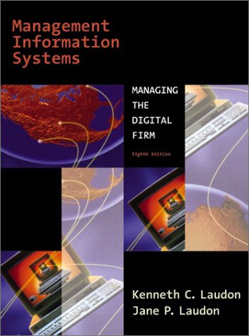 Management Information Systems  8th 2004 edition cover
