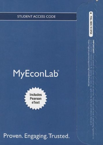 NEW MyEconLab with Pearson EText -- Access Card -- for Principles of Microeconomics  11th 2014 9780133049985 Front Cover