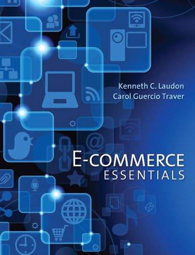 E-Commerce Essentials   2014 9780133544985 Front Cover