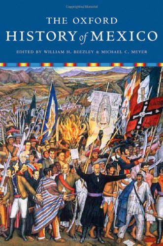 Oxford History of Mexico   2010 edition cover