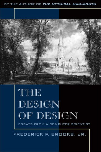 Design of Design Essays from a Computer Scientist  2010 edition cover