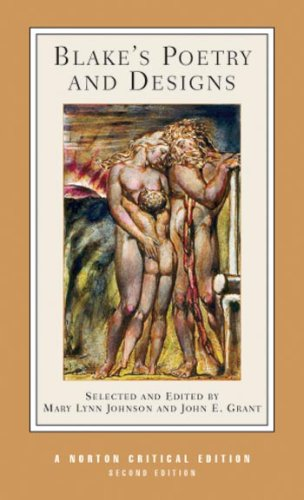 Blake's Poetry and Designs  2nd 2006 (Revised) edition cover