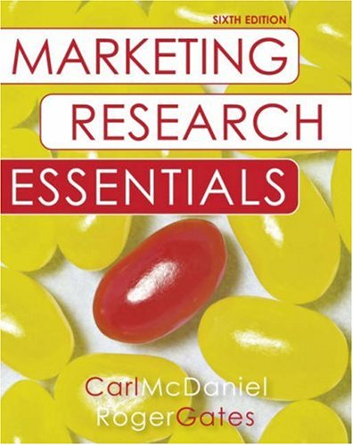 Marketing Research Essentials with SPSS  6th 2008 (Revised) edition cover
