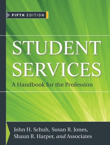 Student Services A Handbook for the Profession 5th 2011 (Handbook (Instructor's)) edition cover