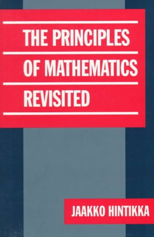 Principles of Mathematics Revisited   1998 9780521624985 Front Cover