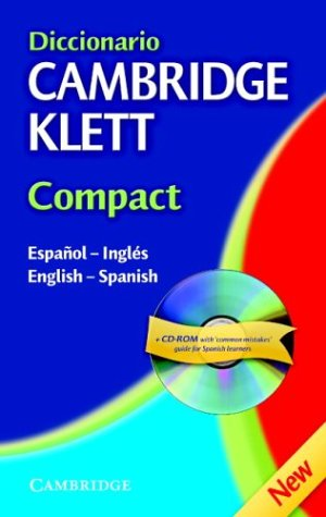 Diccionario Cambridge Klett Compact Espa�ol-Ingl�s/English-Spanish  2002 9780521752985 Front Cover
