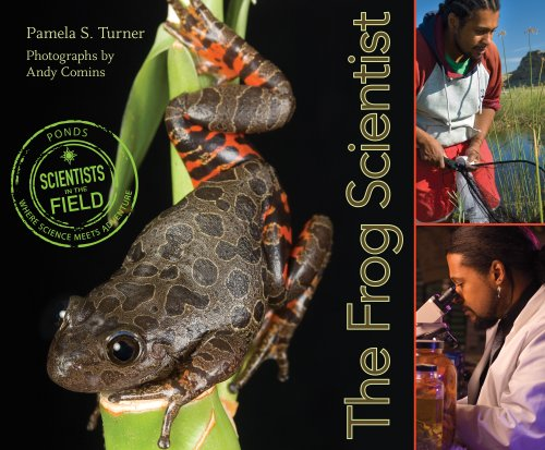 Frog Scientist   2009 edition cover
