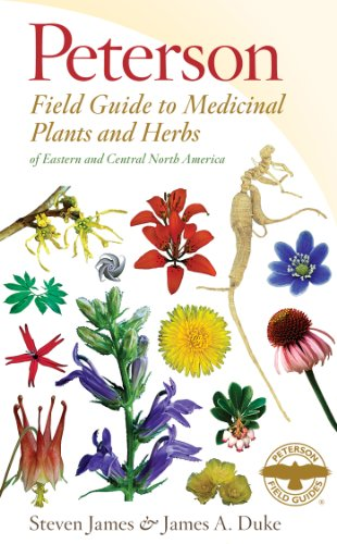 Peterson Field Guide to Medicinal Plants and Herbs of Eastern and Central North America, Third Edition  3rd 2014 edition cover
