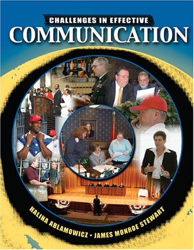 Challenges in Effective Communication   2006 (Revised) 9780757526985 Front Cover