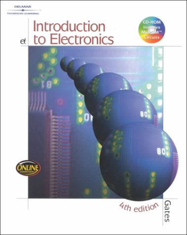 Introduction to Electronics  4th 2001 (Revised) edition cover