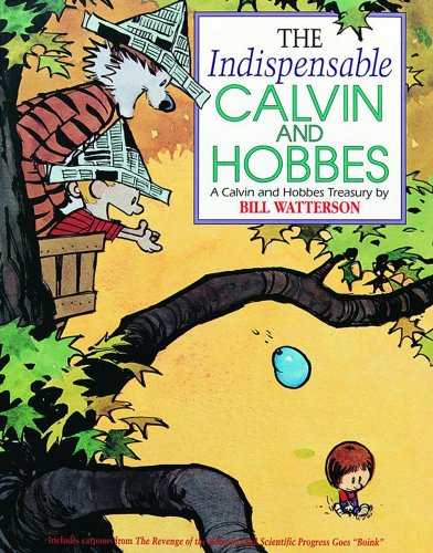 Indispensable Calvin and Hobbes   1992 edition cover