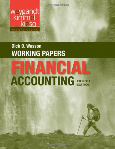 Financial Accounting  8th 2012 9781118102985 Front Cover