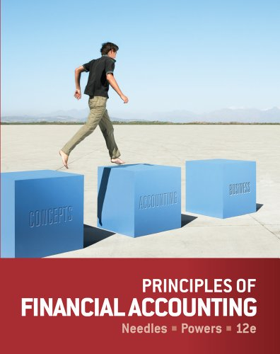 Principles of Accounting  12th 2014 edition cover