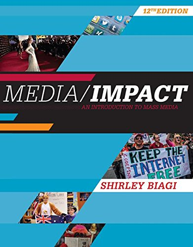 Media/Impact: An Introduction to Mass Media  2016 9781305580985 Front Cover
