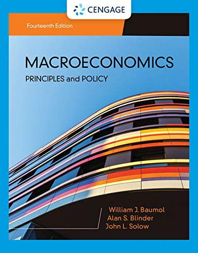 Macroeconomics: Principles & Policy  2019 9781337794985 Front Cover