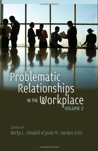 Problematic Relationships in the Workplace   2013 edition cover