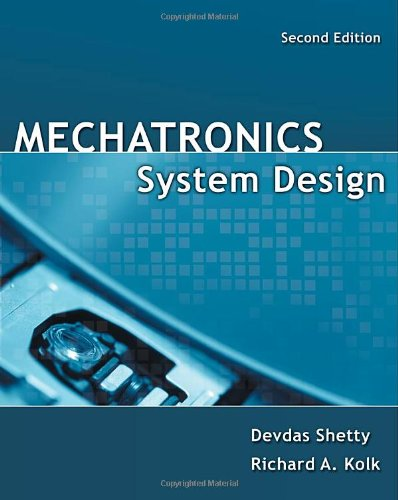 Mechatronics System Design  2nd 2011 edition cover