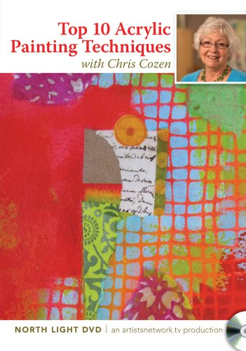 Simple Solutions for Acrylic Mixed Media Painting:   2012 edition cover